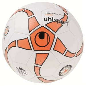 Мяч футзальный Uhlsport Medusa Nereo IMS™ №4 White-Orange (100152402)