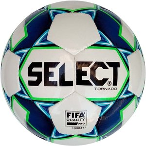 Мяч футзальный Select Tornado Futsal FIFA (014) №4 White-Blue (3643446132)