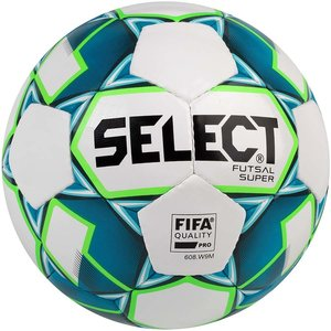 Мяч футзальный Select Futsal Super 2018 FIFA Quality (250) №4 White-Blue (3613446002)