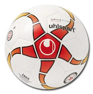 Мяч футзальный Uhlsport Medusa Esteno IMS™ №4 White-Red (100152201)