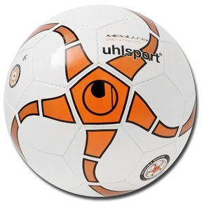 Мяч футзальный для детей Uhlsport MEDUSA 290 ANTEO ULTRA LITE №3 WHITE-ORANGE