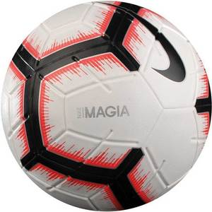 Мяч футбольный Nike Magia FIFA №5 White-Black-Red (SC3321-100). Доставка ~ 1-3 дня