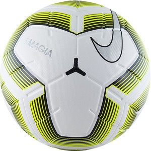 Мяч футбольный Nike Team Magia II FIFA №5 White-Yellow (SC3536-100). Доставка ~ 1-3 дня
