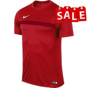 Футболки Nike Academy16 Training TOP (красная, 725932-657)