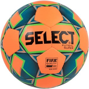 Мяч футзальный Select Futsal Super 2018 FIFA Quality (206) №4 ORANGE-BLUE (3613446662)